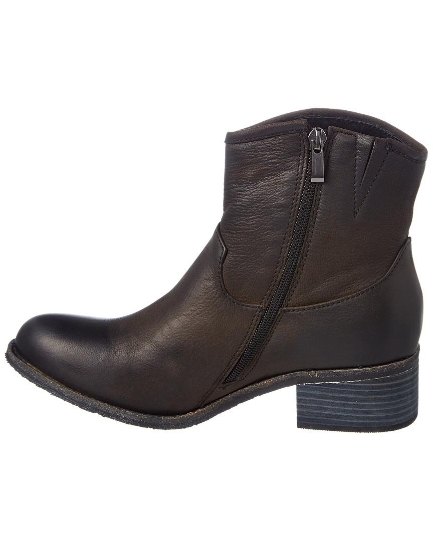 Antelope 365 Leather Bootie in Black
