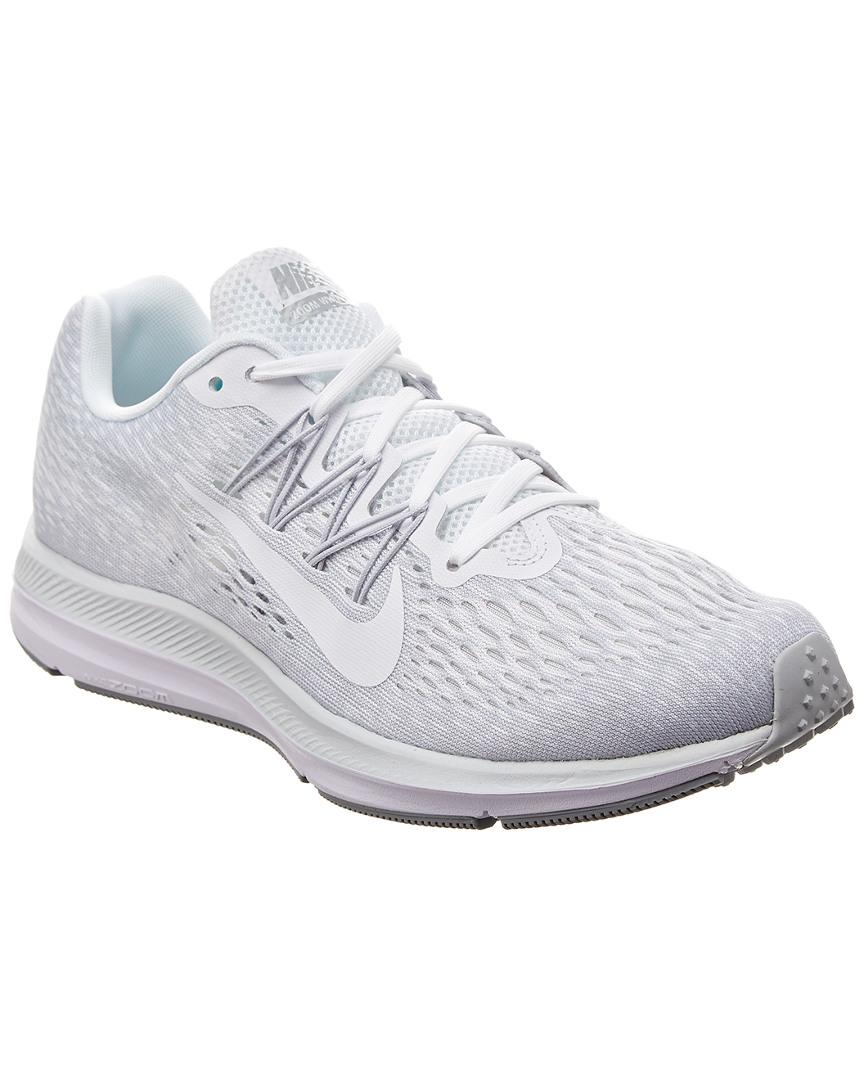 be940af50e03 Nike Air Zoom Winflo 5 Running Shoe in White - Save ...