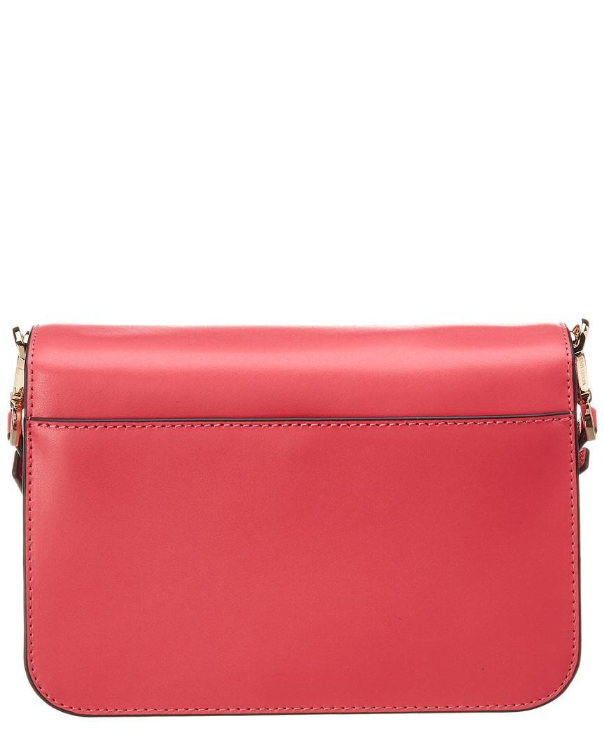 06f469f8f9cf Michael Michael Kors Michael Kors Sloan Editor Large Shoulder Leather Bag  in Pink - Lyst