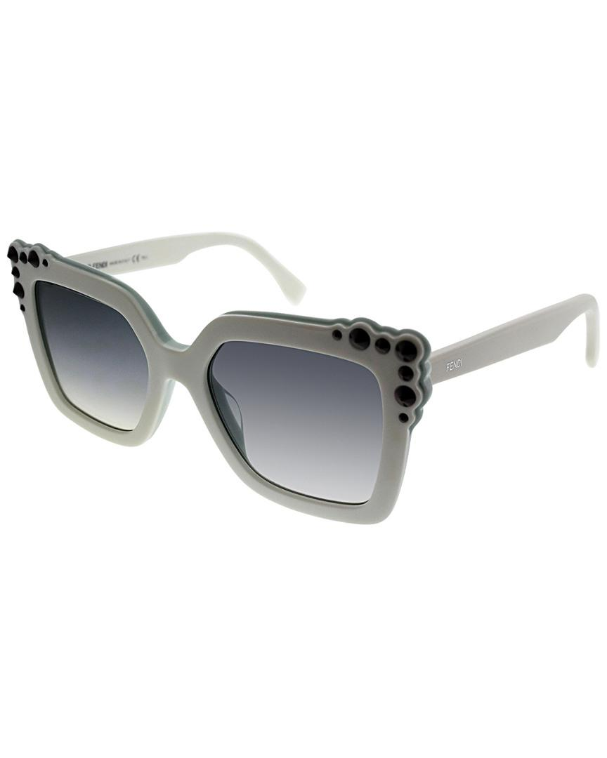 8a81628b19f9 Fendi Ff0260 s 52mm Sunglasses in Gray - Lyst