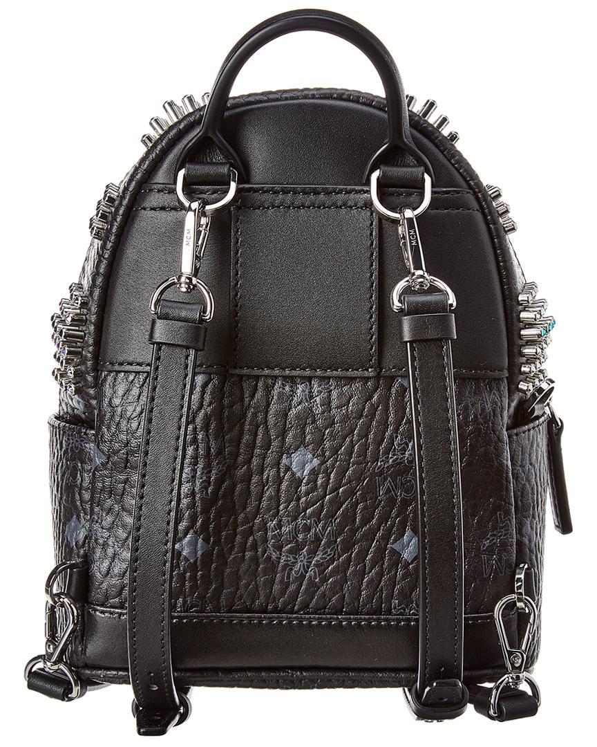 d2571e23a75c MCM Stark Bebe Boo Mini Backpack in Black - Lyst
