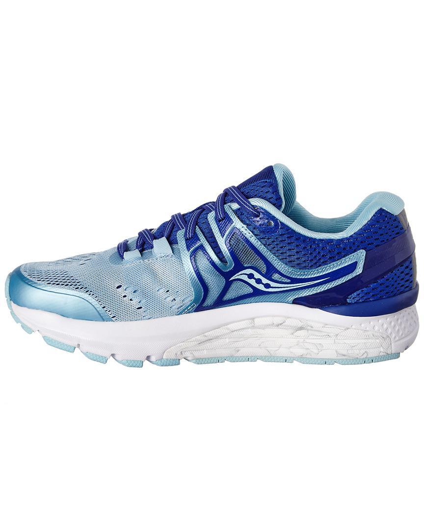 Saucony Women's Hurricane Iso 3 Sneaker in Blue