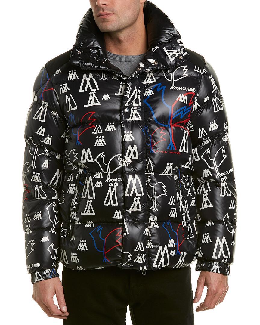 776ac7209 Lyst - Moncler Marennes Padded Down Jacket in Black for Men