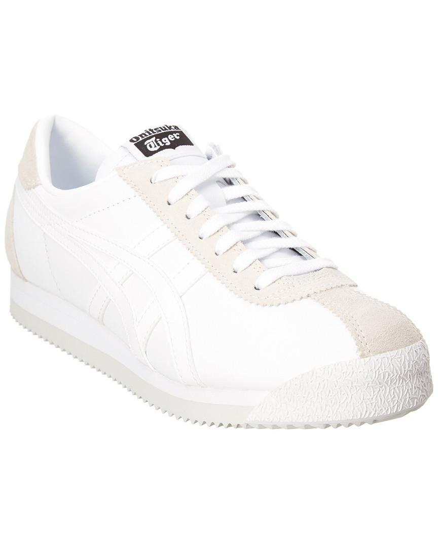 Asics Onitsuka Tiger By Women's Corsair Leather Sneaker in White ...