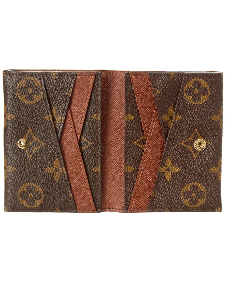 Louis Vuitton Brown Monogram Canvas Origami Compact Wallet