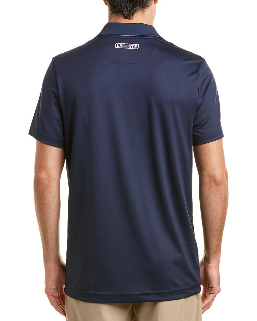 378c13f01c6 Lyst - Lacoste Sport Chemise Col Bord-cotes Polo in Blue for Men - Save  41.55844155844156%