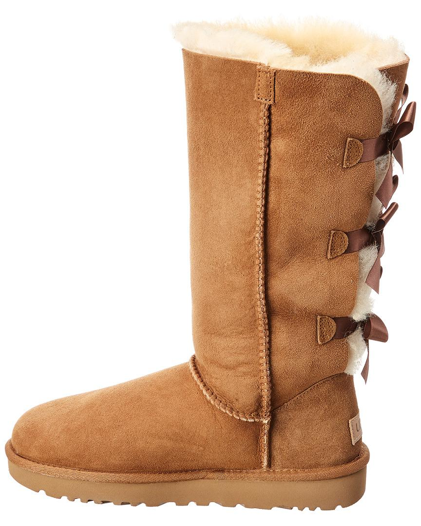 1096e7a0e86 best price brown bailey bow ugg boots d4713 dd9f1