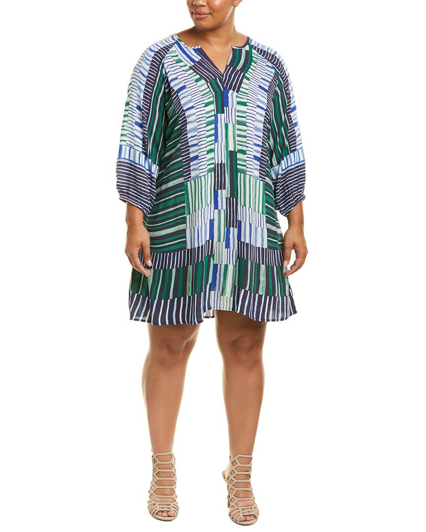 88f29fbe734 Nic+Zoe Shift Dress in Blue - Save 20.967741935483872% - Lyst