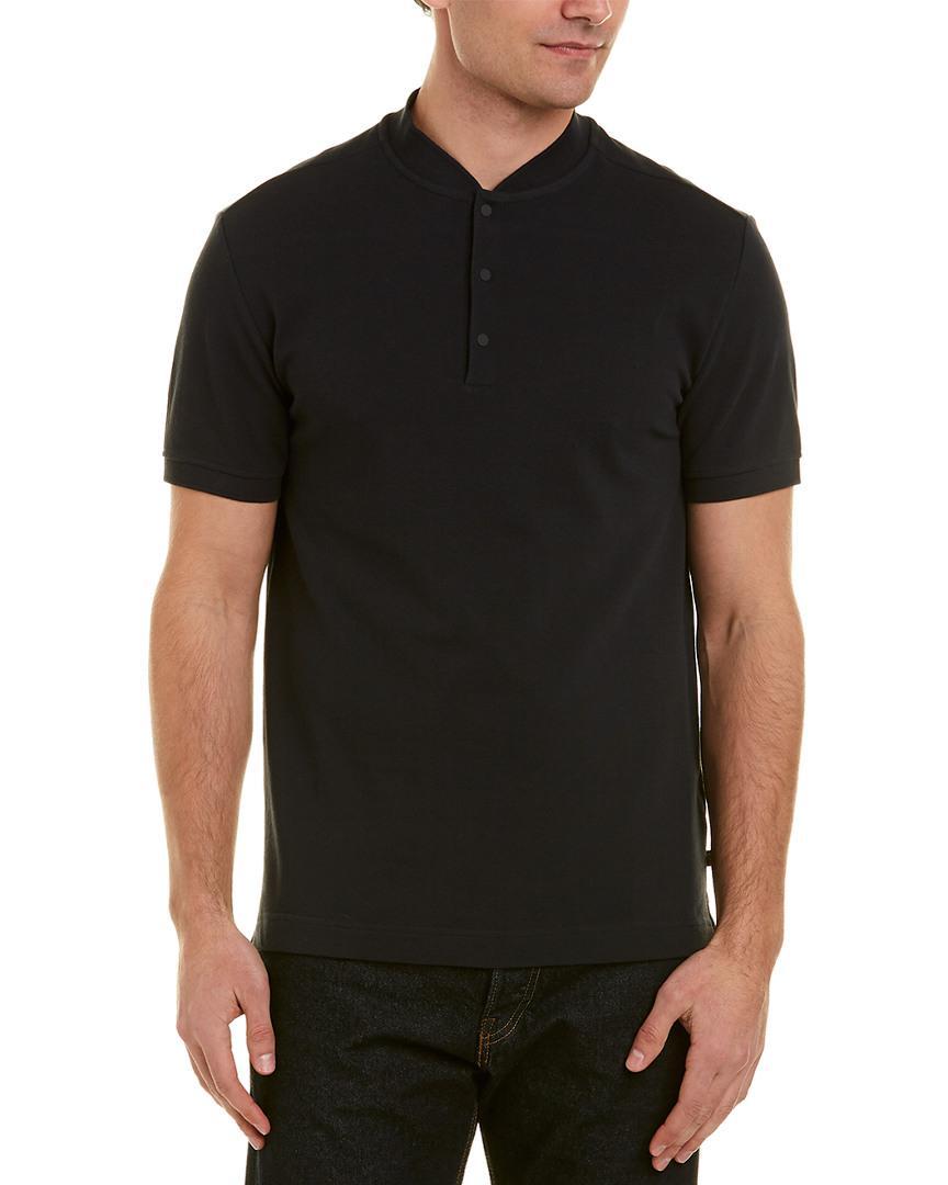 3aeaa80d5 Lyst - J.Lindeberg J.lindeberg Leo Pique Shirt in Black for Men