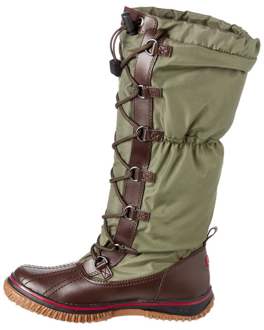 Pajar Women's Grip Waterproof Leather Boot in Brown