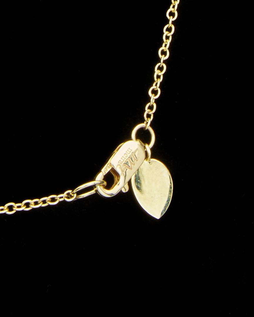 Meira T 14k 0.18 Ct. Tw. Diamond Necklace in Black