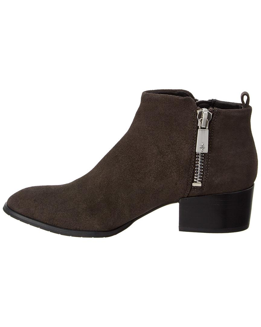Kenneth Cole Addy Suede Bootie in Brown