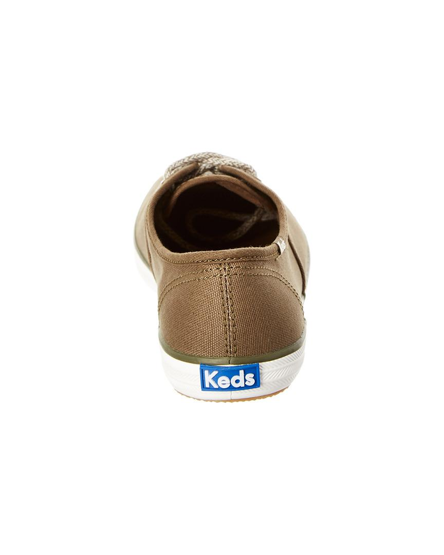 Keds Champion Sweater Lace Sneaker in Green