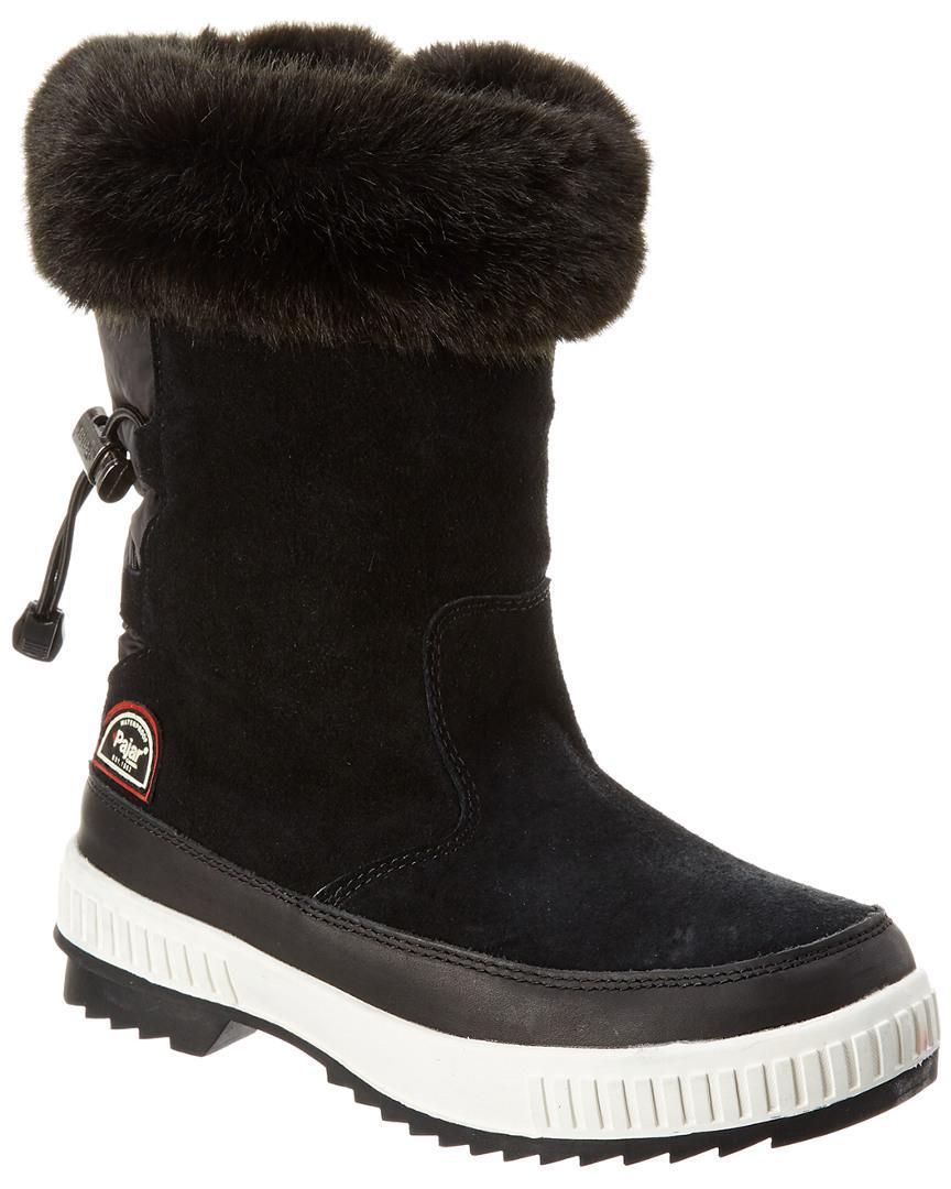 Pajar Suede Women's Barby Waterproof Boot in Black