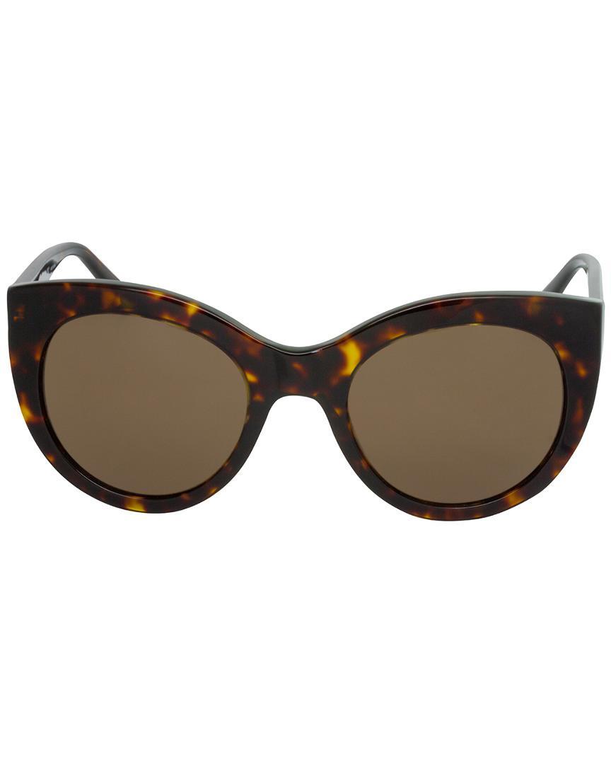 4b3e4347892 Lyst - Tory Burch Ty7115 51mm Sunglasses in Brown