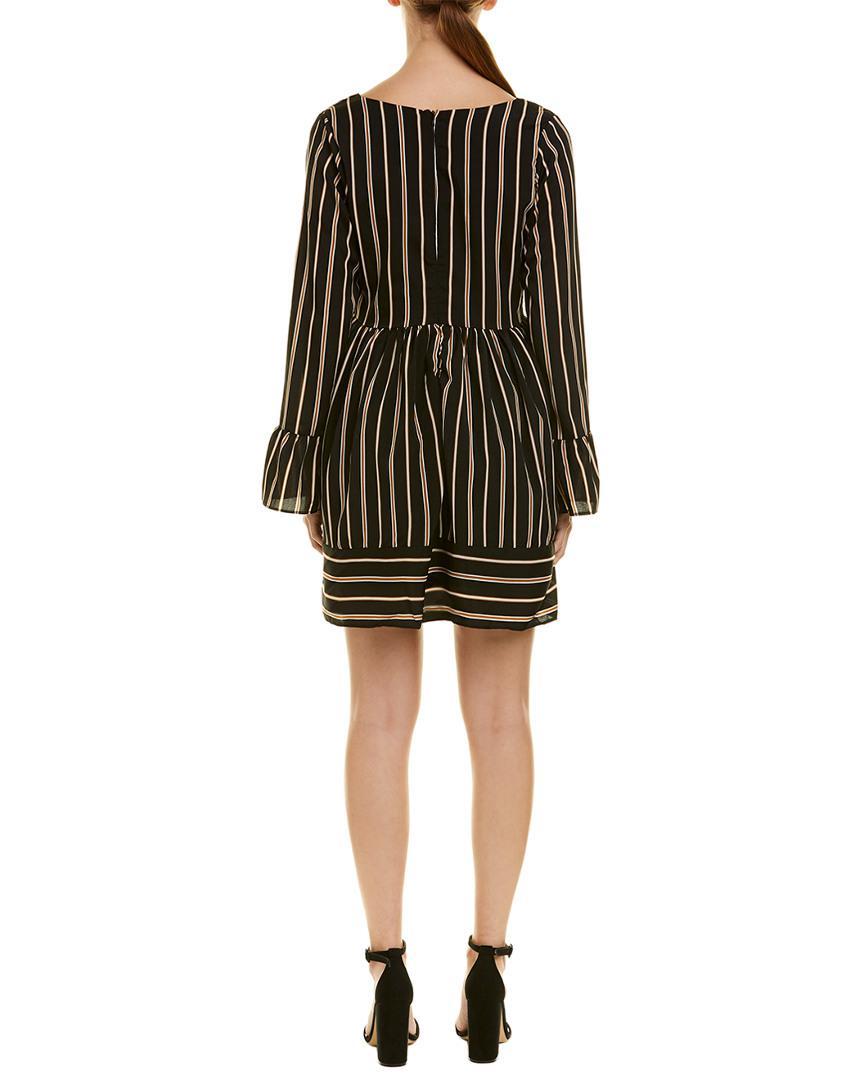 2accb750f2 Lucca Couture Marsala Mini Dress in Black - Lyst