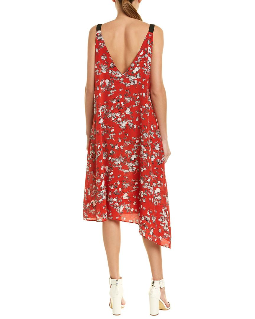 7ce314a79fad5c Lyst - Rag   Bone Zoe Shift Dress in Red - Save 78%