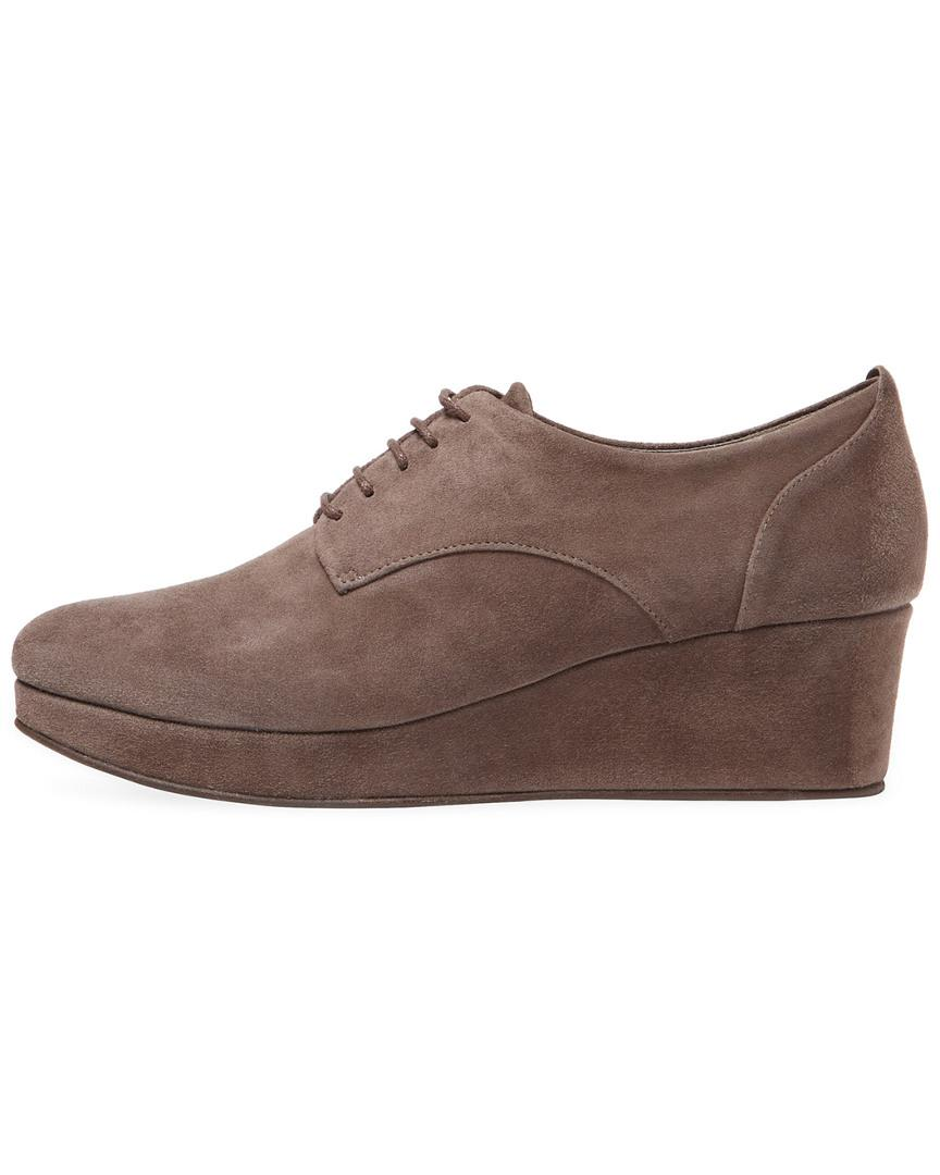 522ab671f0c Lyst - Coclico Pearl Wedge Oxford in Brown