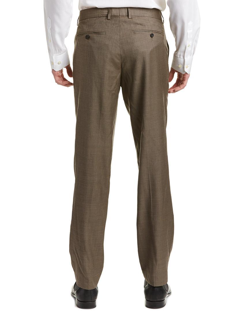 The Kooples Wool Trouser in Brown for Men