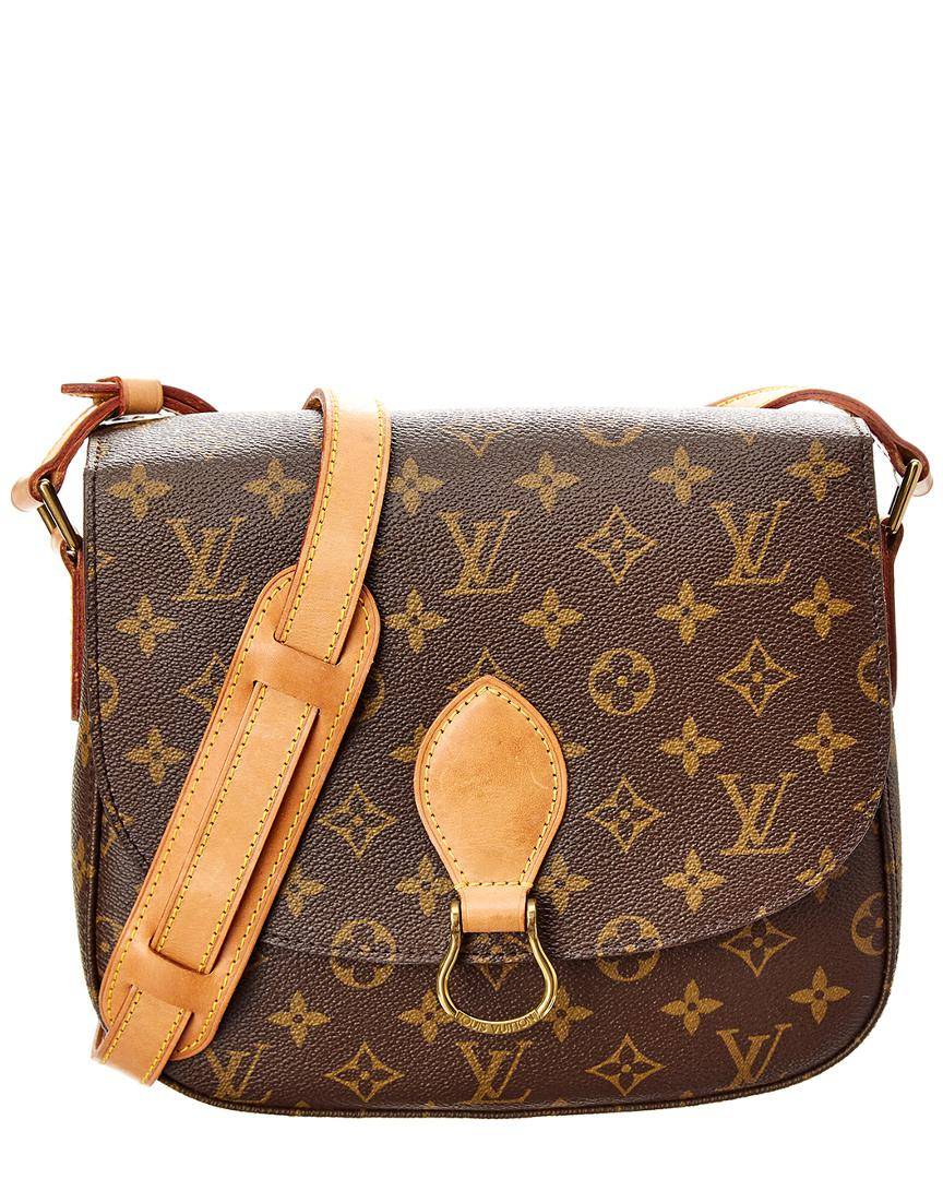 fe13d8c3859 Louis Vuitton Monogram Canvas Saint Cloud Gm in Brown - Lyst