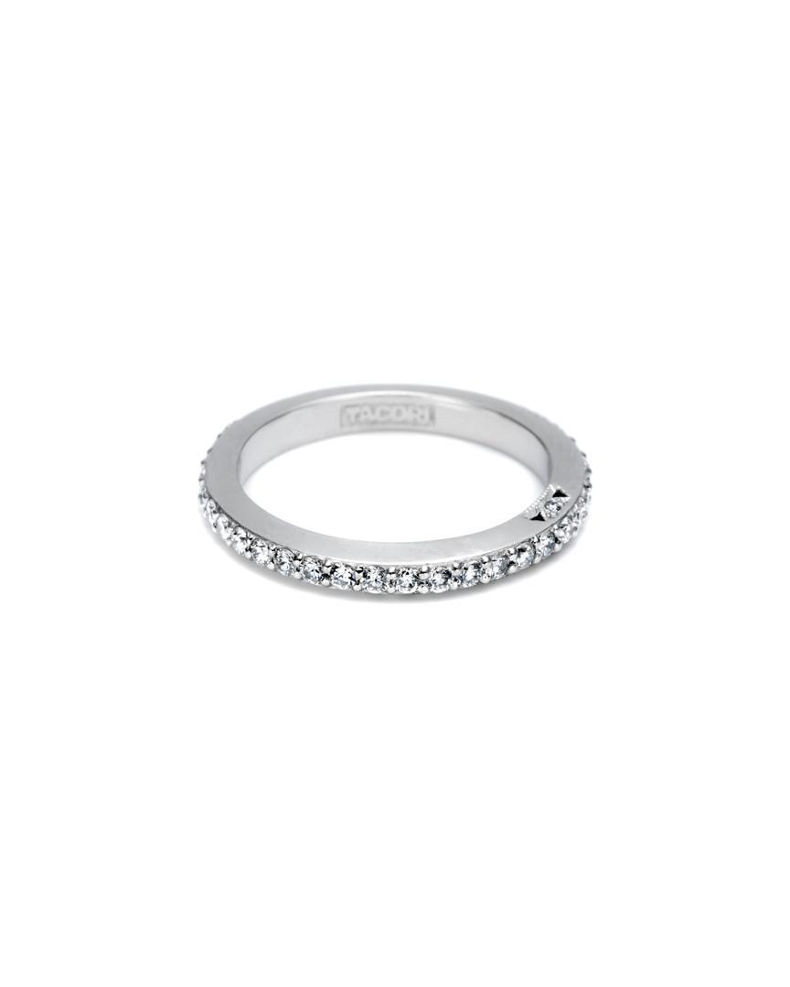 Tacori Dantela 18k 0.63 Ct. Tw. Diamond Eternity Ring in Metallic