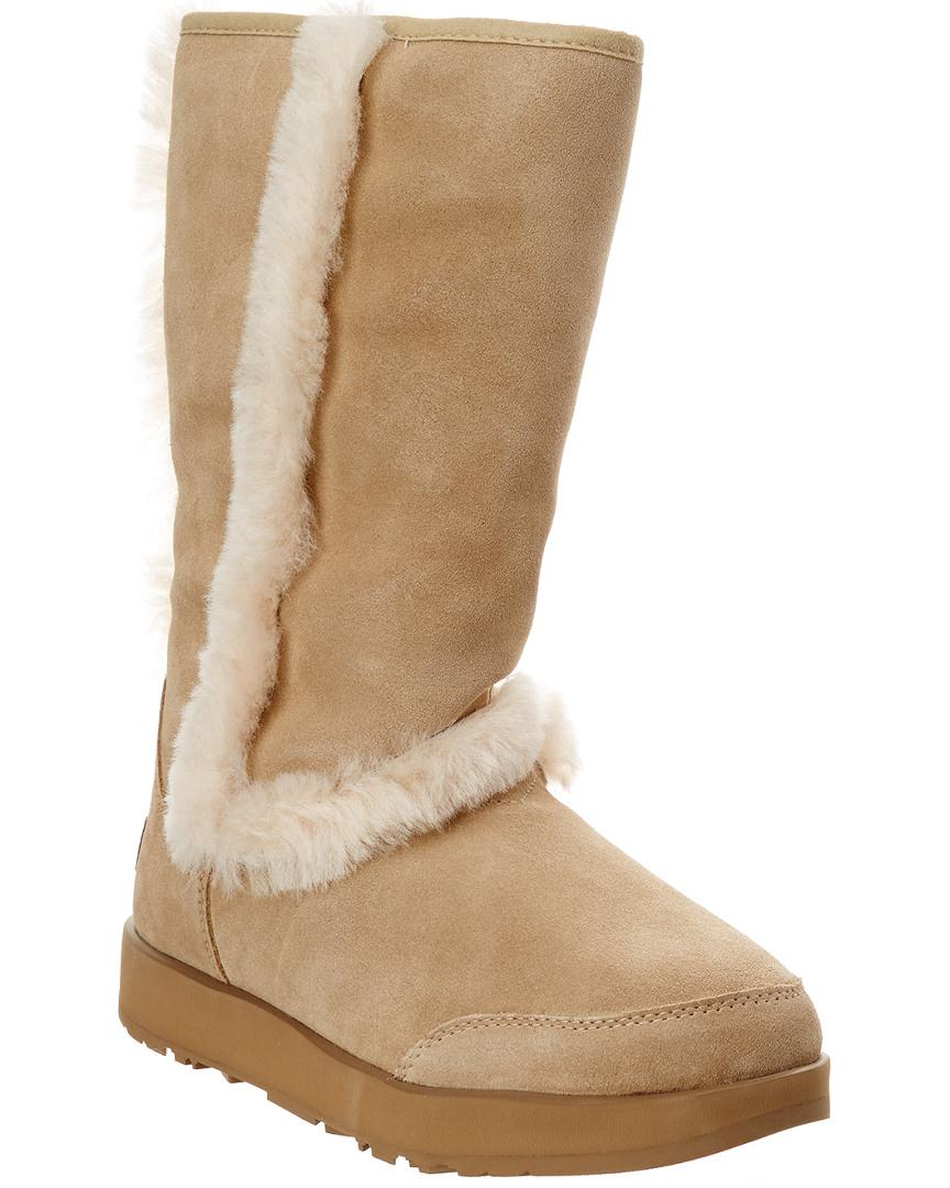 d1ee74a9137 Natural Women's Sundance Waterproof Twinface Sheepskin Boot