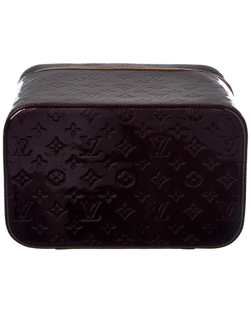 dab56eba5abd Louis Vuitton - Multicolor Purple Monogram Vernis Leather Vanity Gm - Lyst