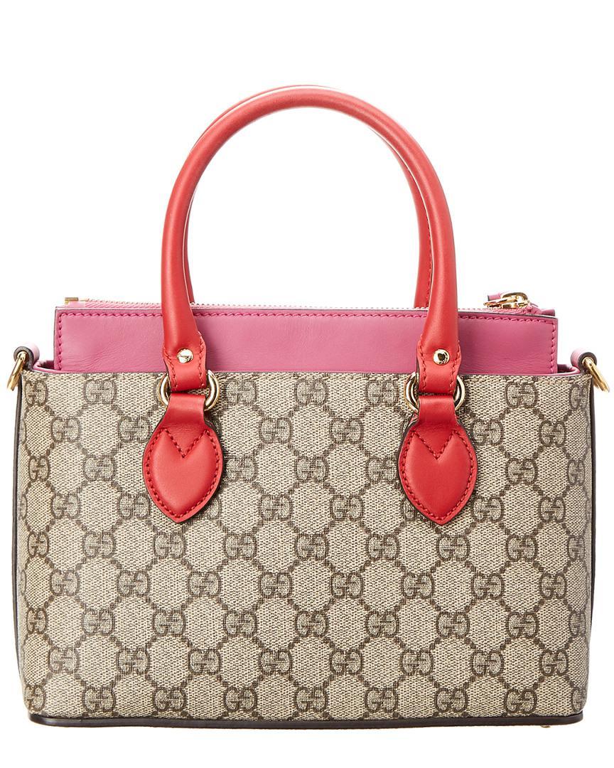 f53becce282130 Gucci Limited Edition Multicolor Gg Supreme Canvas & Leather Mini ...