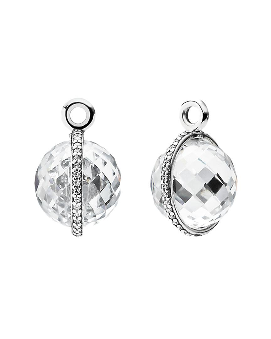 ecf80af0e ... czech lyst pandora midnight star silver cz earring charms in metallic  f45e0 4845b
