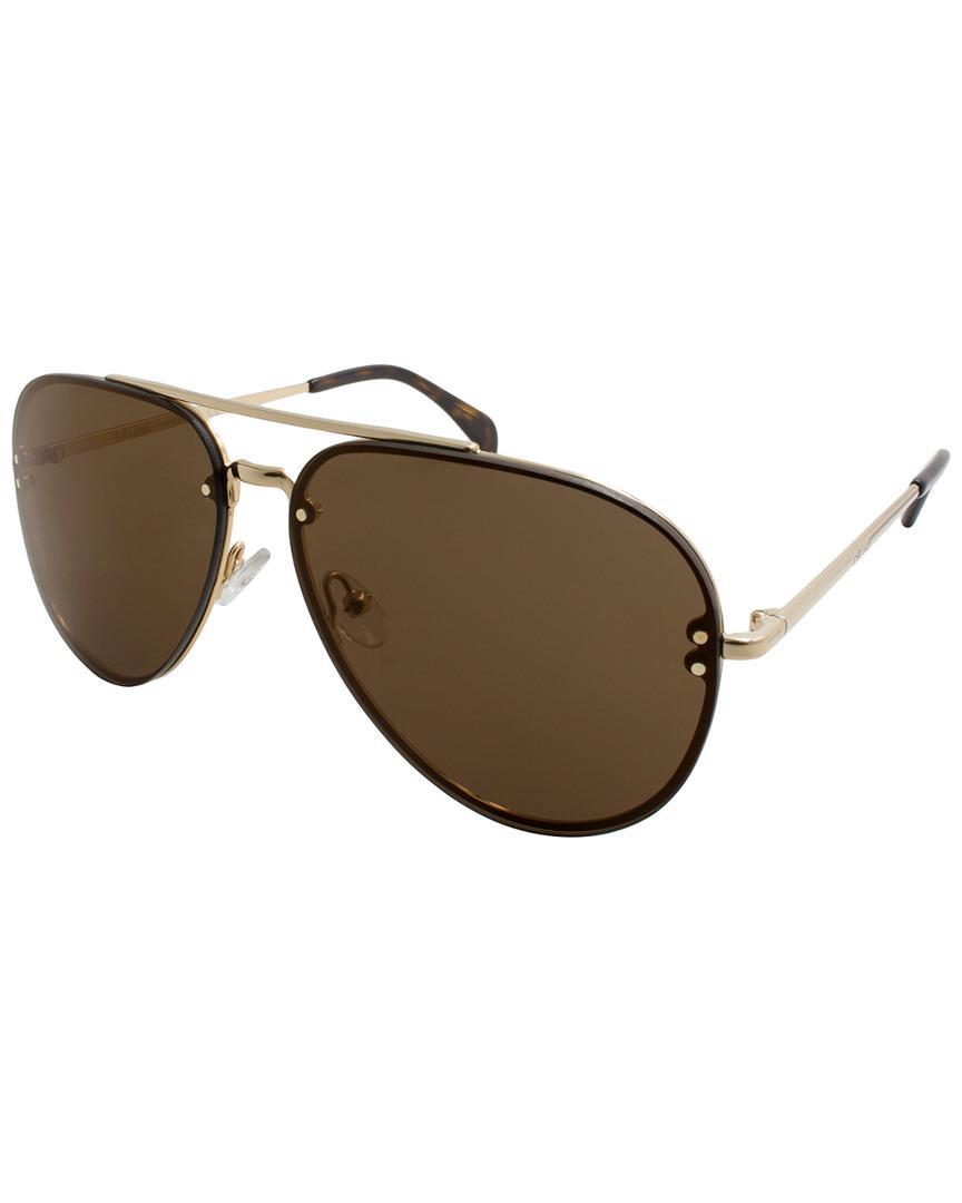 2fb0b5e523 Lyst - Céline Unisex Cl41391 s-j5g 60mm Sunglasses in Brown