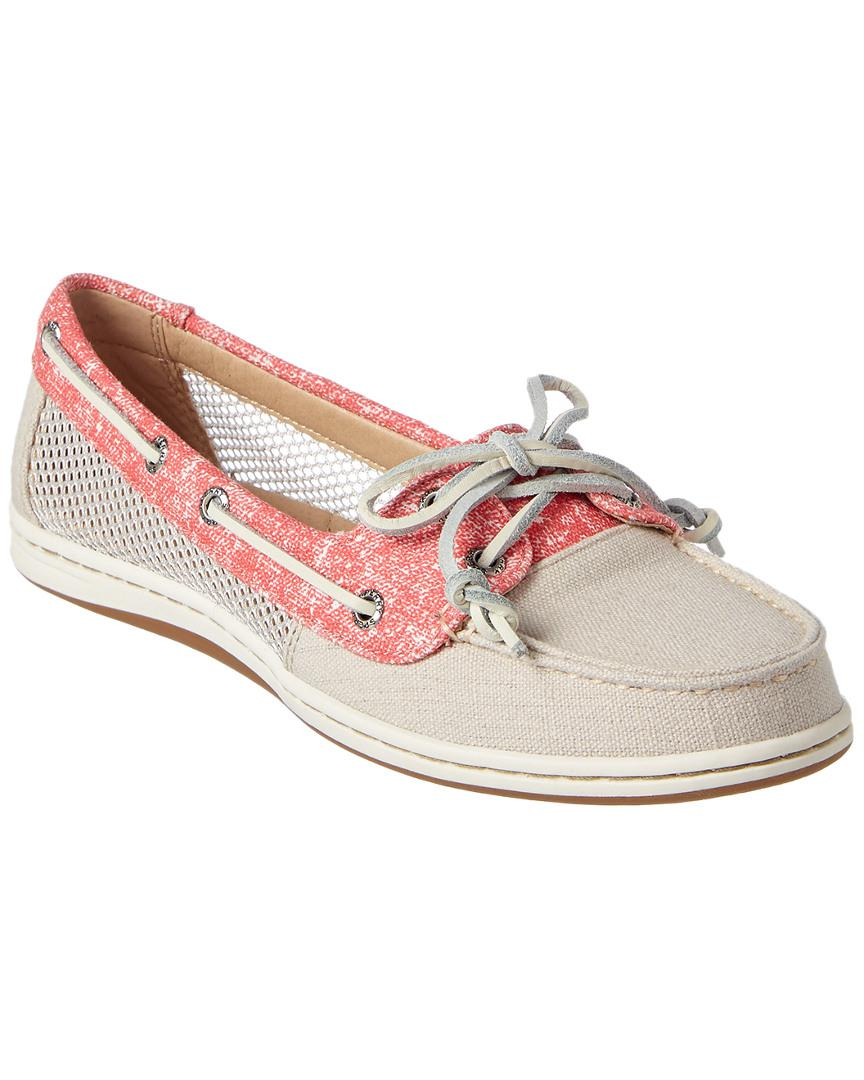 27efb6038 Lyst - Sperry Top-Sider Women s Firefish Boat Shoe in Natural
