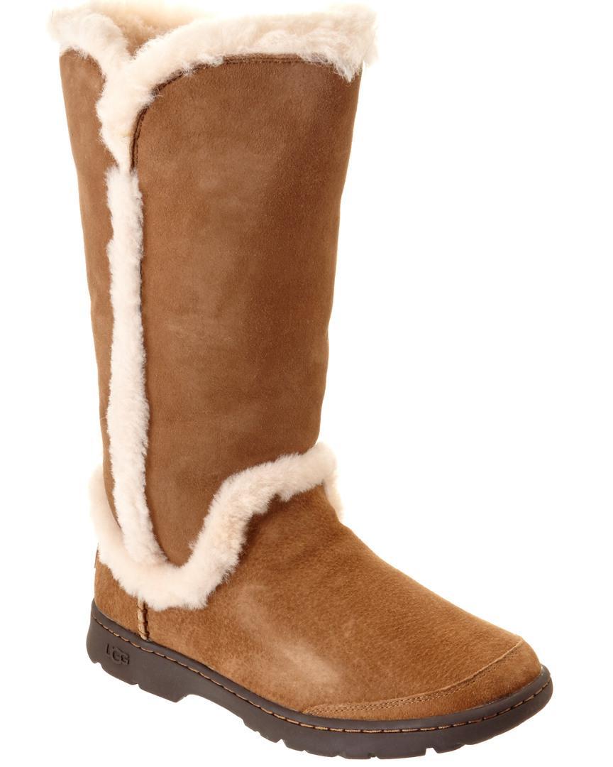 145017e58d3 Ugg - Brown Women's Katia Waterproof Suede Tall Boot - Lyst
