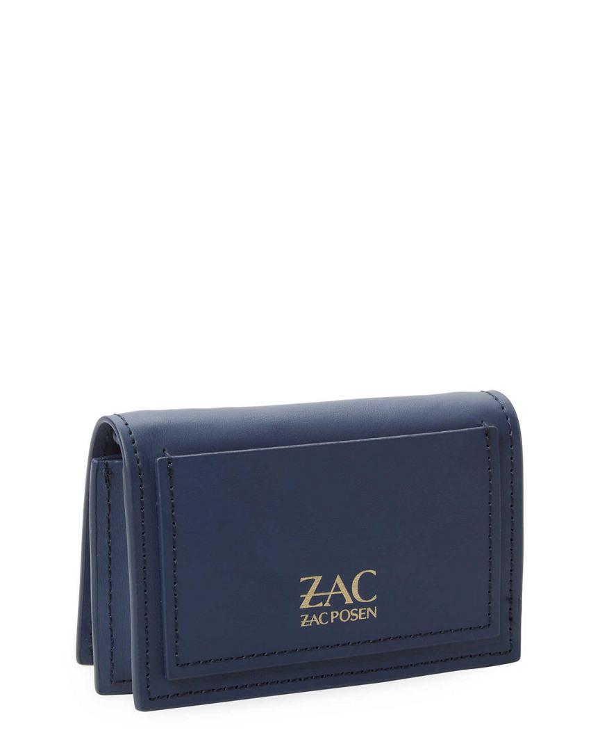 Zac Posen Zac Card Case Crossbody in Navy (Blue)