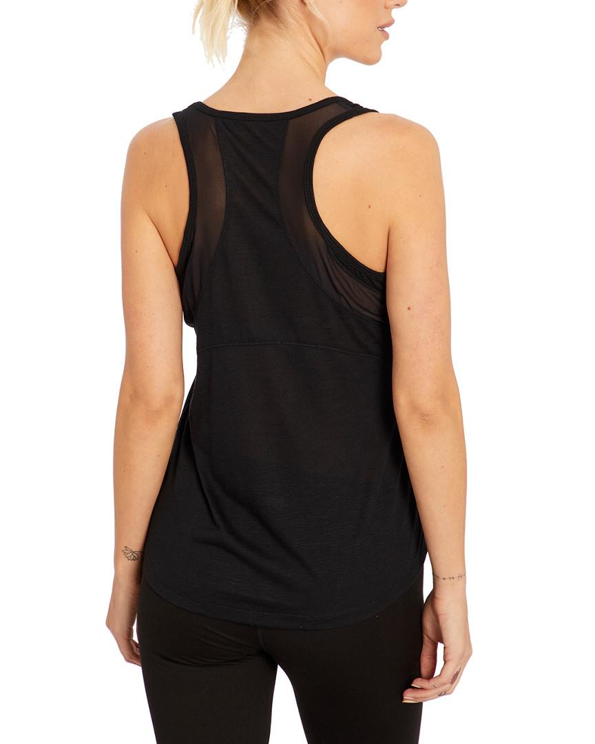 84fd3fcf69b35e Lyst - Balance Collection The Kacie Singlet in Black