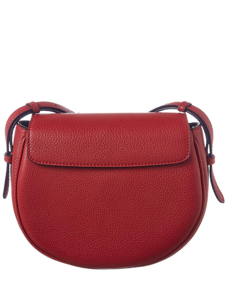 d795845984e9 Lyst - Fendi Leather Crossbody in Red