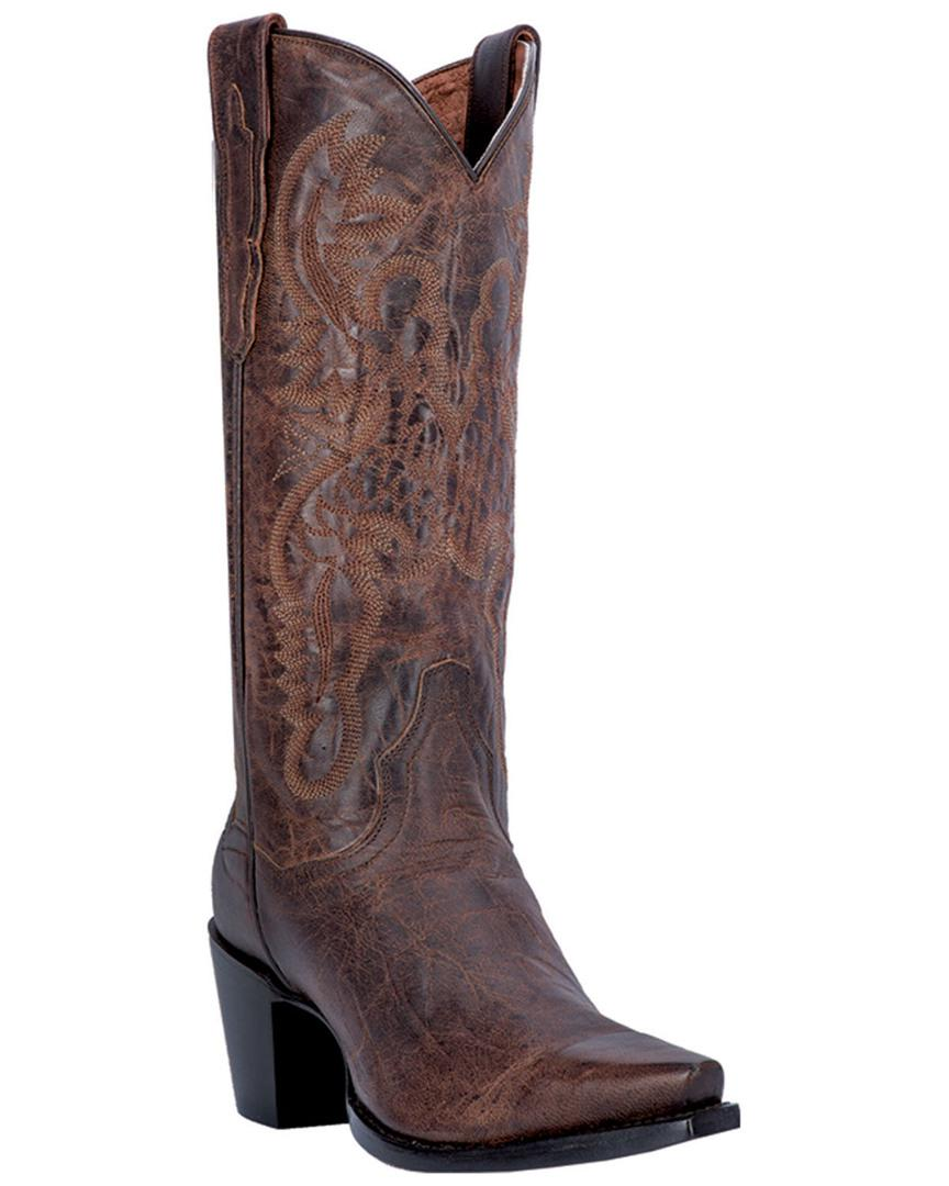 Dan Post Women's Maria Leather Boot in Brown