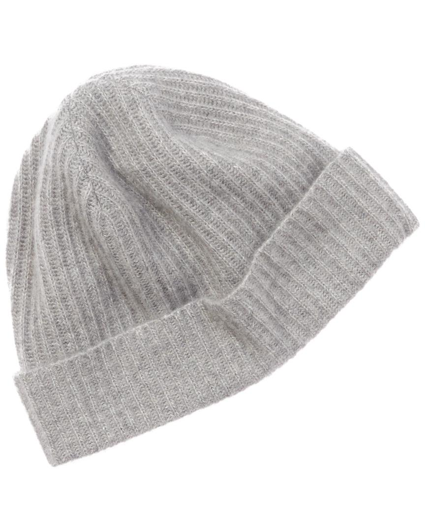 a963e0cd042 Lyst - Portolano Men s Grey Cashmere Hat in Gray for Men