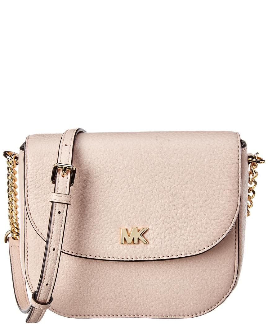 8df31af55a67c2 MICHAEL Michael Kors Half Dome Cross Body Bag in Pink - Save 47% - Lyst