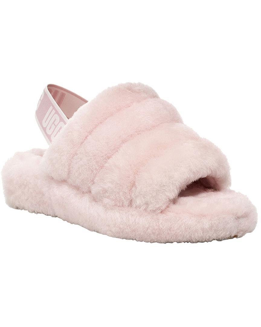 UGG Fur Fluff Yeah Sheepskin Slingback