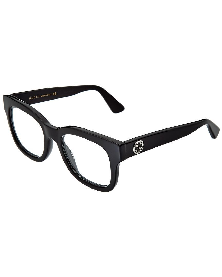 e50f48c70 Gucci GG0033O 50mm Optical Frames in Black - Lyst