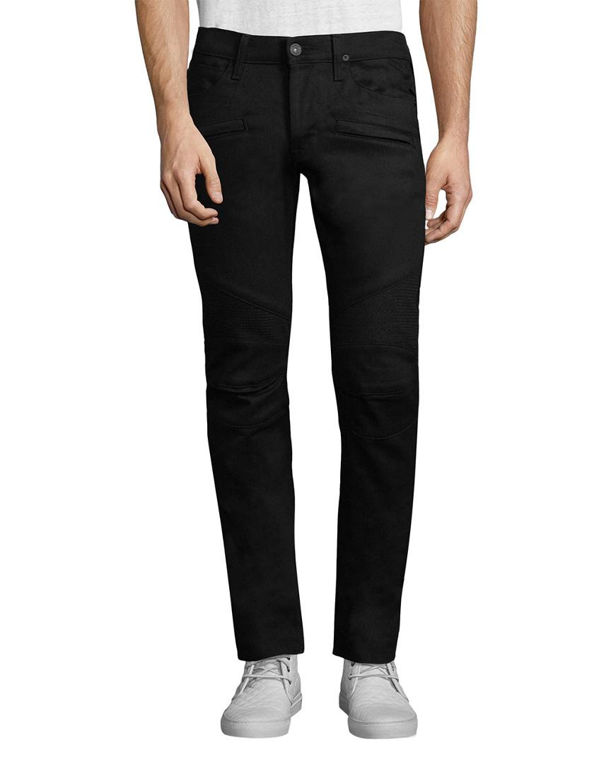Hudson Jeans Cotton The Blinder Biker Abyss in Black for Men