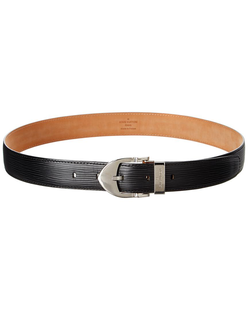 Lyst - Louis Vuitton Black Epi Leather Ceinture Classic Belt (size ... da79a8492da