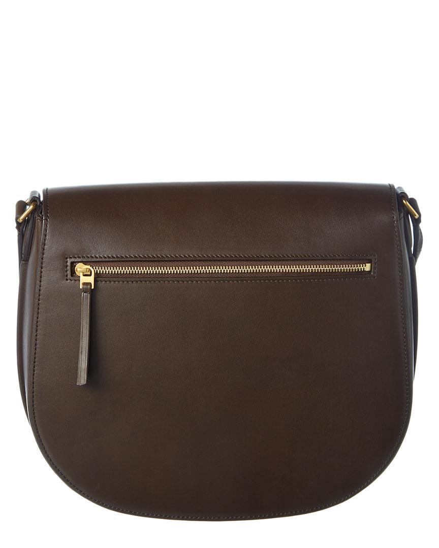 Lyst - Céline Medium Trotteur Supersoft Calfskin Shoulder Bag in Brown 4a8244b57be75