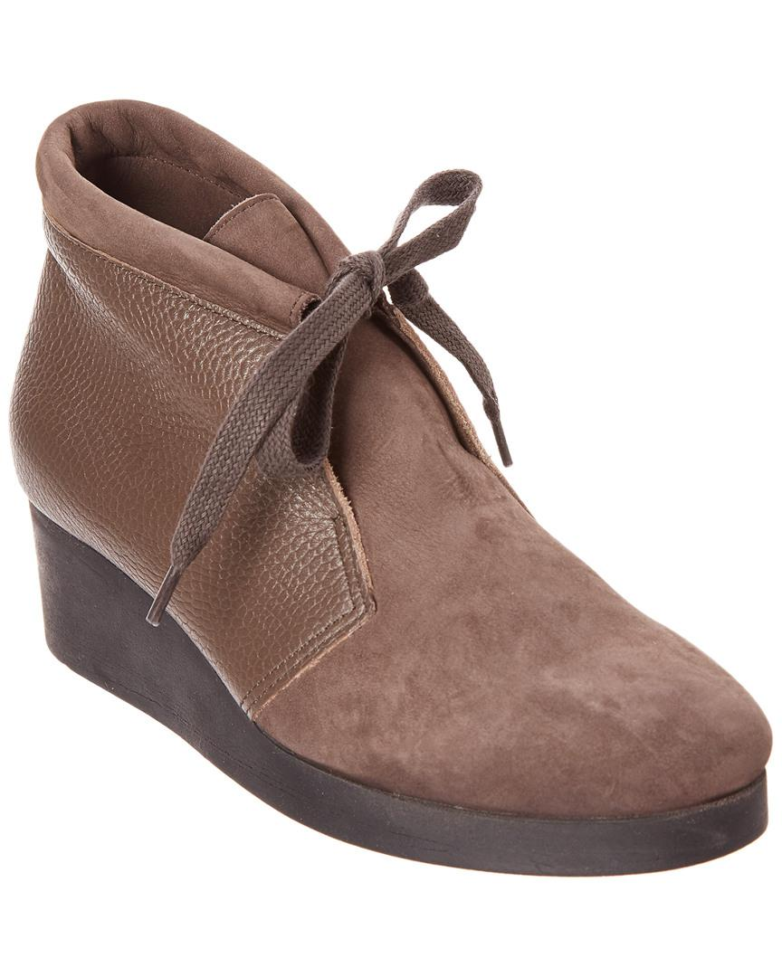 Arche Hablo Wedge Ankle Boot in Grey (Grey)