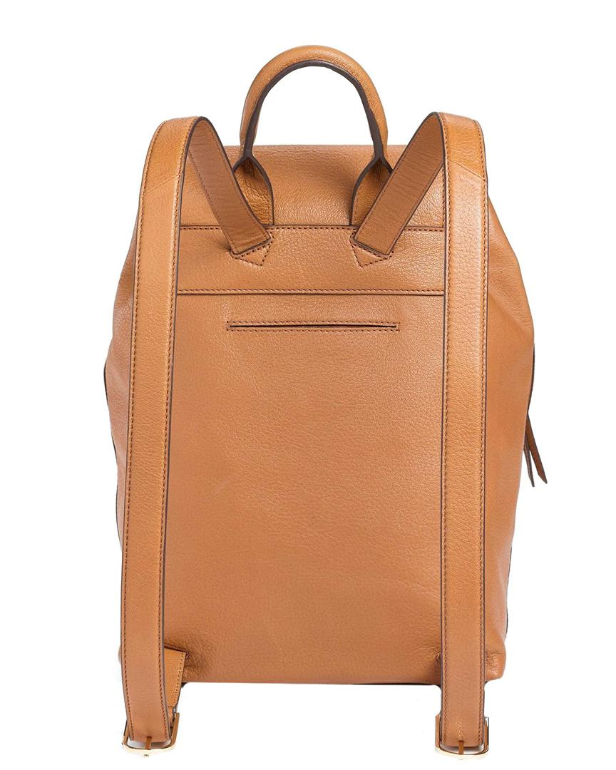 c746c9e86f9d Lyst - Tory Burch Brody Leather Backpack in Brown