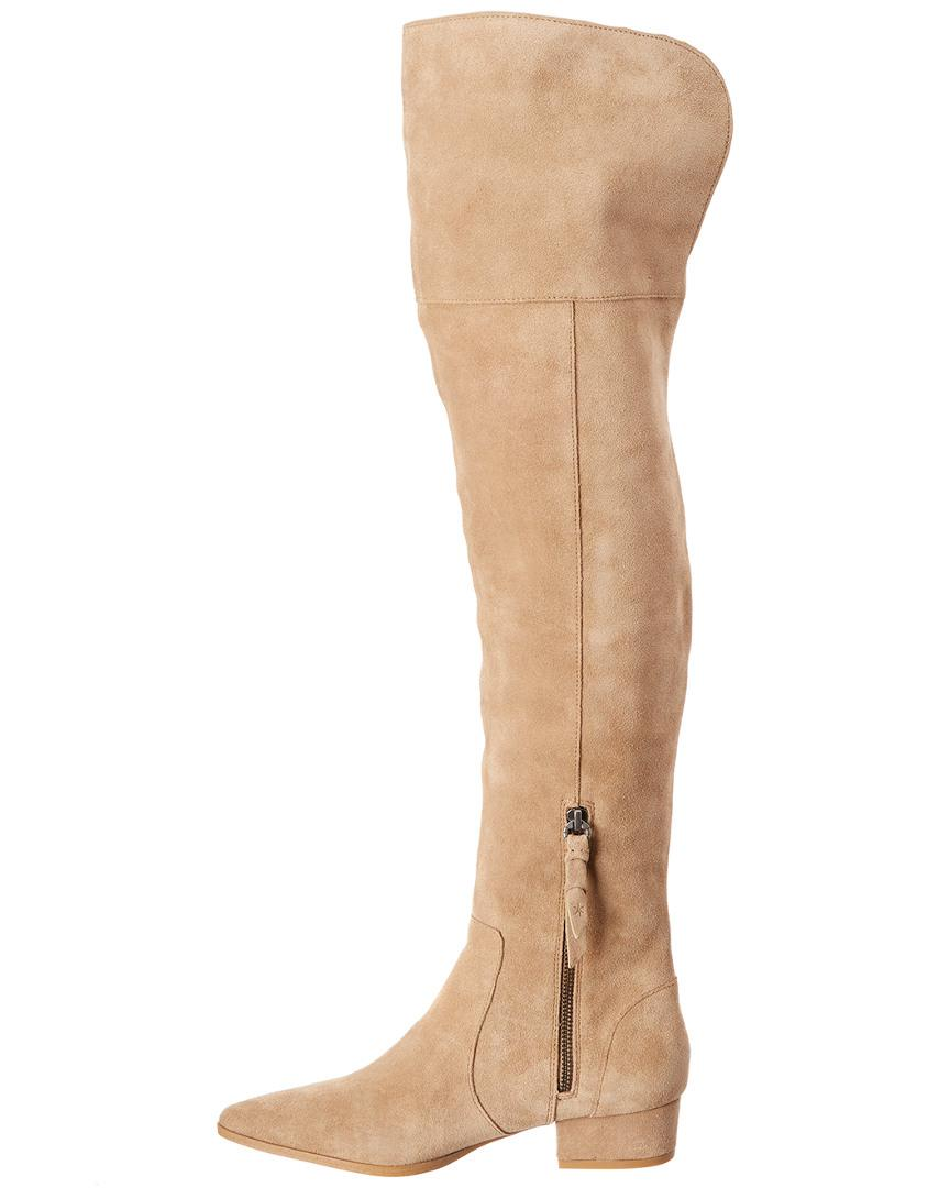 Splendid Ruby Suede Boot in Beige (Natural)