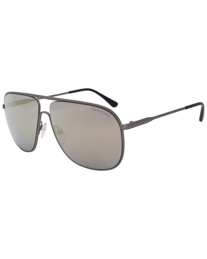 9ac711a046 Tom Ford - Gray Ft0451 60mm Sunglasses - Lyst. View fullscreen