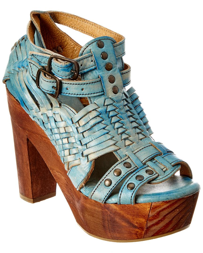 d060767b9740 Lyst - Bed Stu Cindy Leather Sandal in Blue