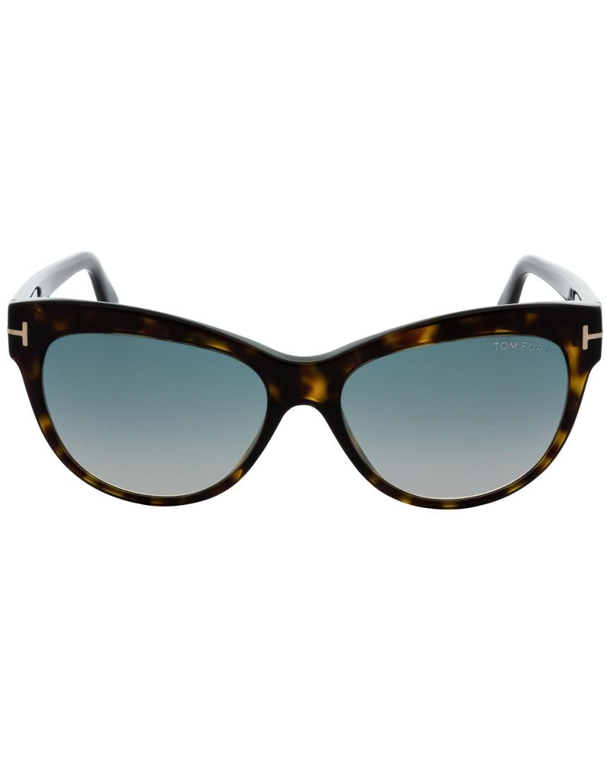 Tom Ford Lily 56mm Sunglasses