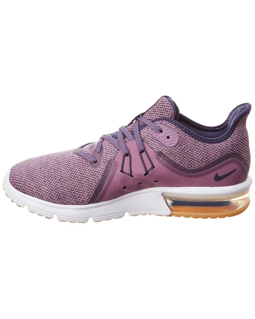 972d11aadef Nike Air Max Sequent 3 in Purple - Save 53% - Lyst